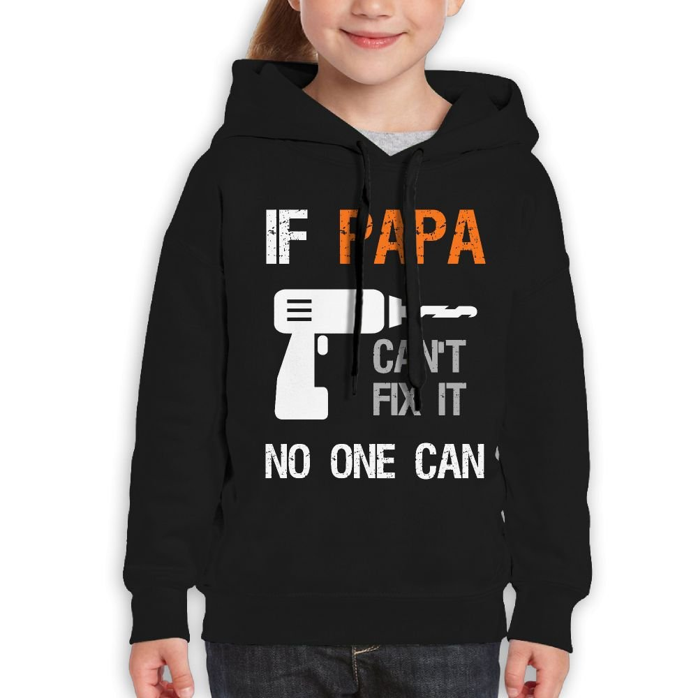 DTMN7 Grandpa Or Daddy Cant Fix It No One Can Athletic Printed O-Neck Blouses For Girl Spring Autumn Winter