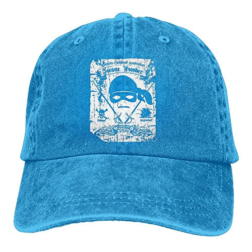 Men's Or Woman Iocane Powder Dread Pirate Poison Princess Unisex Cotton Cap Adjustable Plain Hat Royalblue