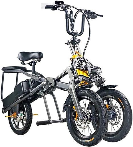 MSM Una-Haga Clic Rápido Plegable Bicicleta Electrica,Tres Ruedas ...