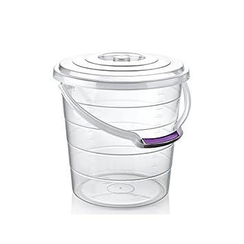 Gut gemocht AGROHIT Eimer mit Deckel und Tragebügel 5/10/15 Liter transparent VP39