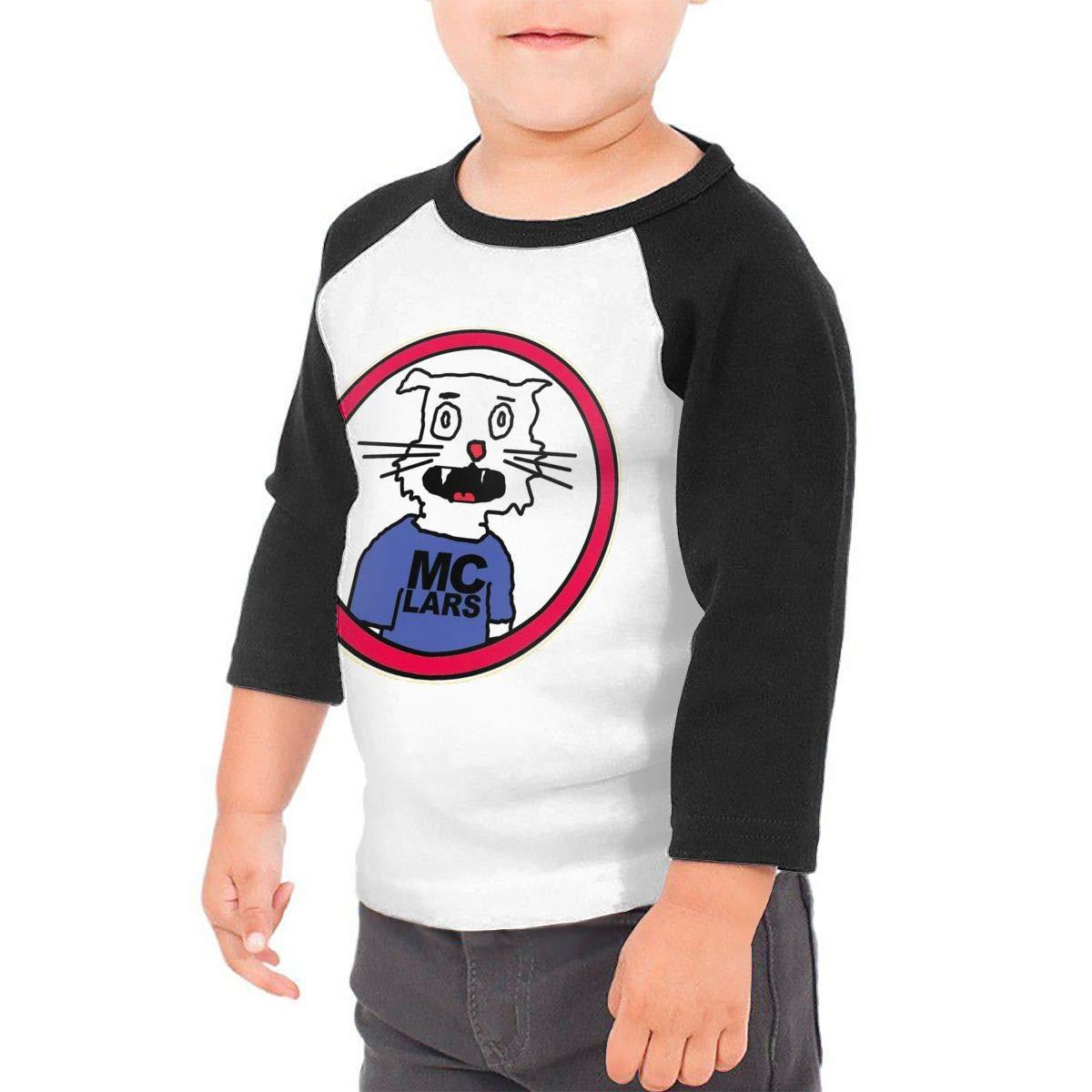 Black6Red Mc Lars Childrens 3//4 Sleeve T-Shirt