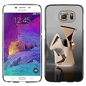 PC/Aluminum Funda Carcasa protectora para Samsung Galaxy S6 SM-G920 Abstract / JUSTGO PHONE PROTECTOR