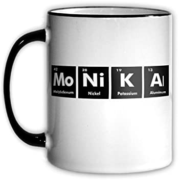 Amazon Monika Periodic Table Coffee Tea Mug With Chemical