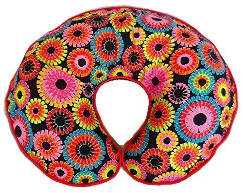 Cotton Nursing Pillow Cover Rainbow Print