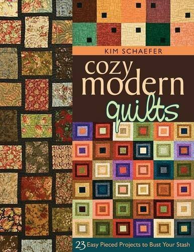 Cozy Modern Quilts (Cozy Modern Quilts: 23 Easy Pieced Projects to Bust Your Stash by Kim Schaefer (2009-11-16))