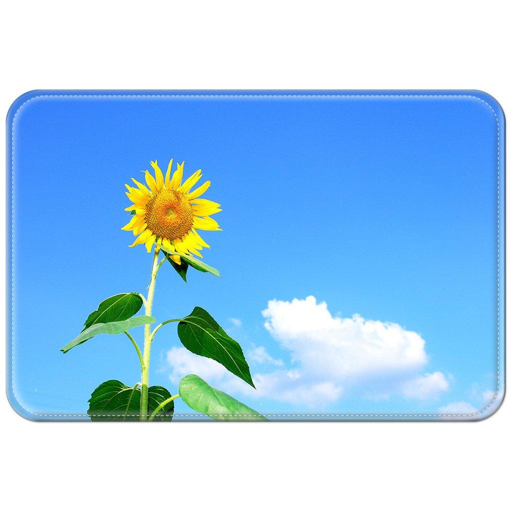violetpos Fußmatte blau sky Sonnenblume Teppich/Fußmatte für innen ...