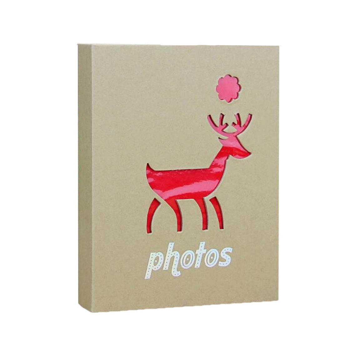 Amazon.com: WEI LONG Photo Album Hold 200 Pockets, 3.5