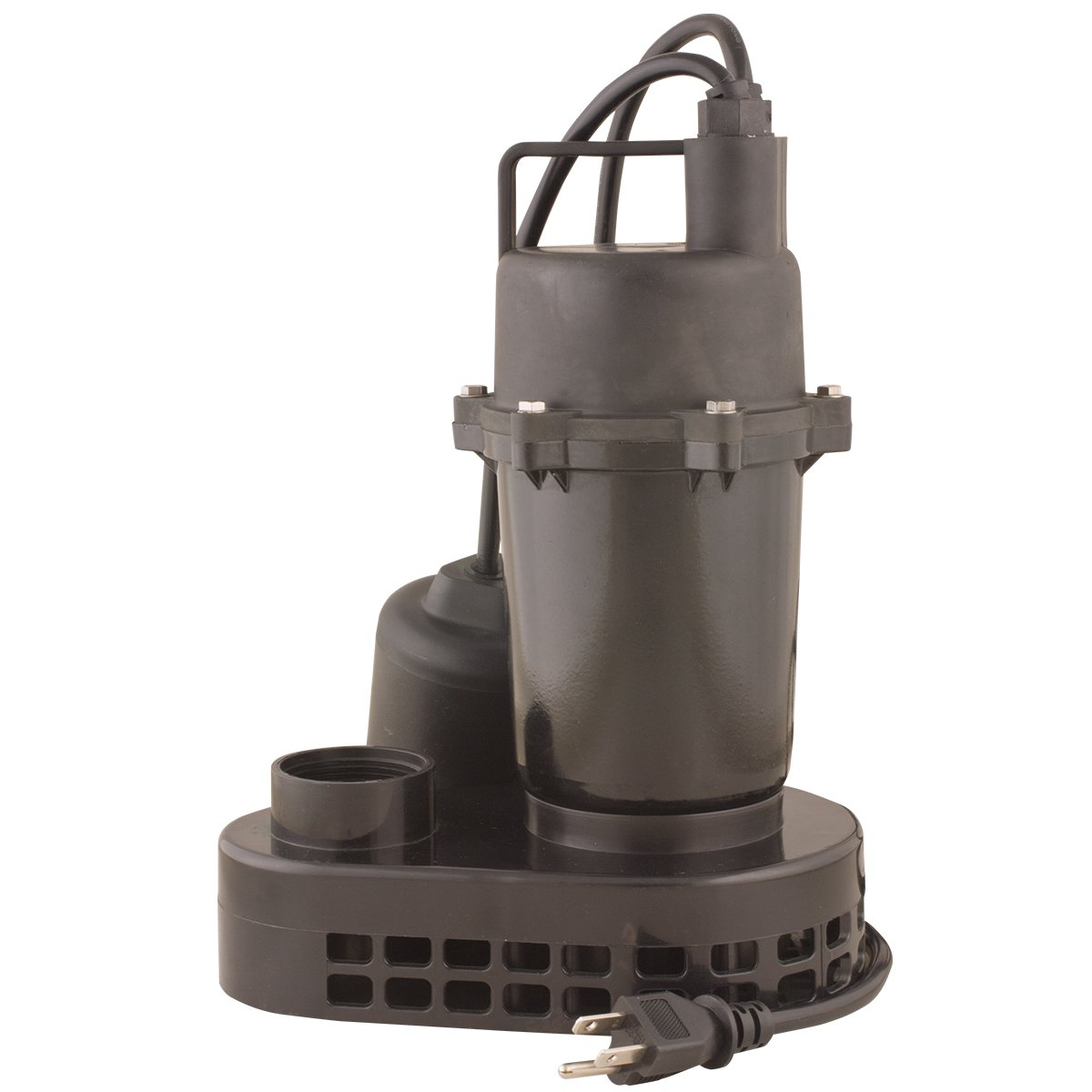 Star 2SPHALC 1/4 HP Submersible Sump Pump – Cast Aluminum with Tethered Float Switch