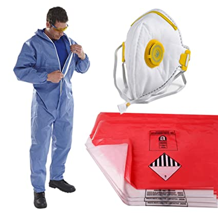 Pack of 10 Type 5//6 Disposable Paper Overall Coverall Protectors XXL Comes With TCH Anti-Bacterial Pen!