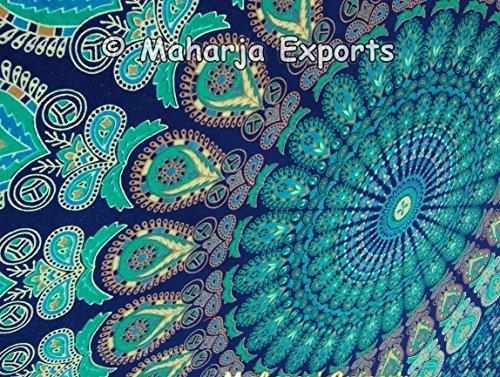 Twin-Size-Wandteppiche Multi Color BIG Mandala Hippie Teppich ...