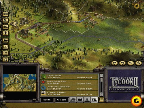 Amazoncom Railroad Tycoon 2 Second Century Expansion Pack PC