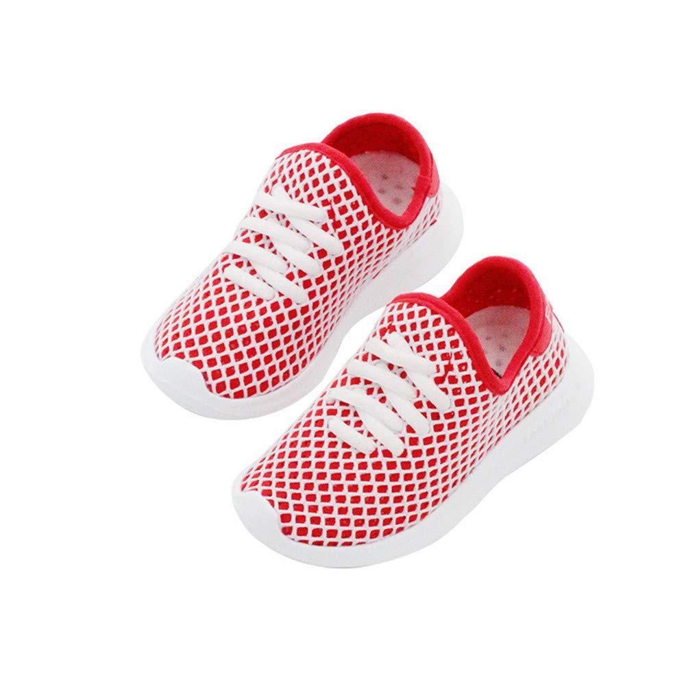 ANDERDM Toddler Boy Girl Slip-On Breathable Sneaker Trainer Children Casual Sport Shoes