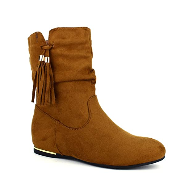Peros Taille Cendriyon Mode Bottines 41 Femme Chaussures Caramels 8wYB4