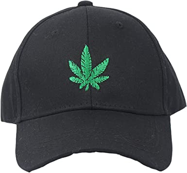 Baseball Cap Marijuana Cannabis Leaf Logo Snapbacks Truker Hats Unisex Adjustable Fashion Cap