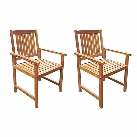 Amazonde Roderick Irving Gartenstühle 2 Stk Holzsessel Garten