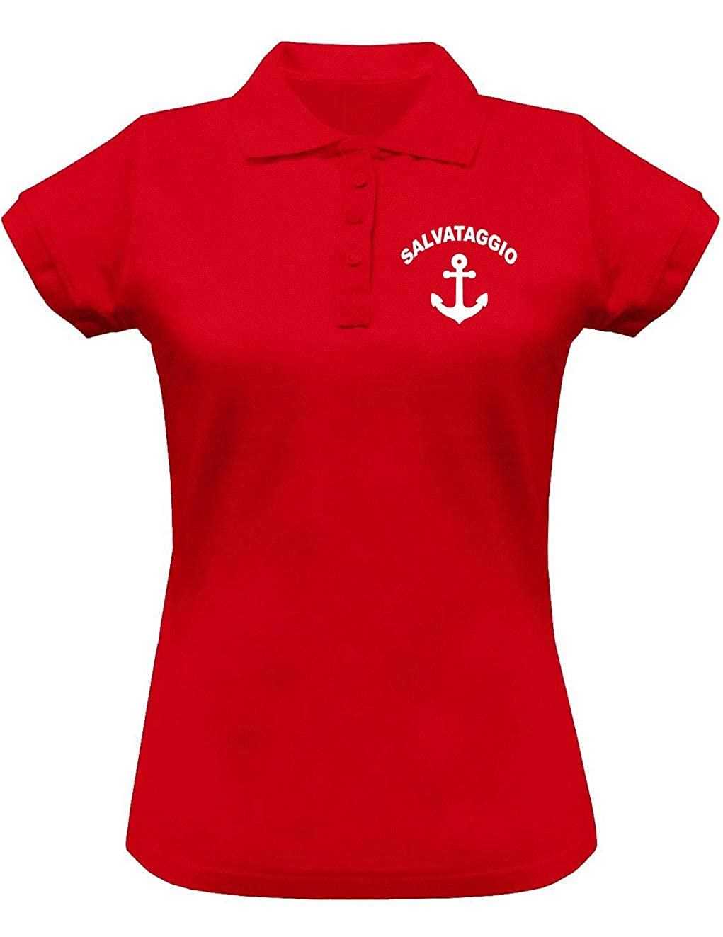 Wixsoo Polo Salvataggio Lifeguard Donna