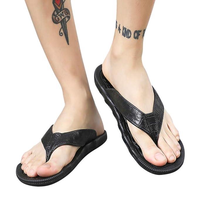 Amazon.com: Zapatillas de playa para hombre, estilo casual ...