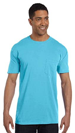 e6d7380fd Comfort Colors Men's Garment-Dyed Pocket T-Shirt_Chalky Mint PgmDye_S