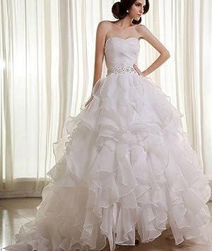 AN Vestidos de boda superiores del tubo Vestidos de boda simples de la manera Vestidos de