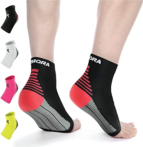 Compression Socks Arch Ankle Running Support Mens Women Plantar Breathable Socks