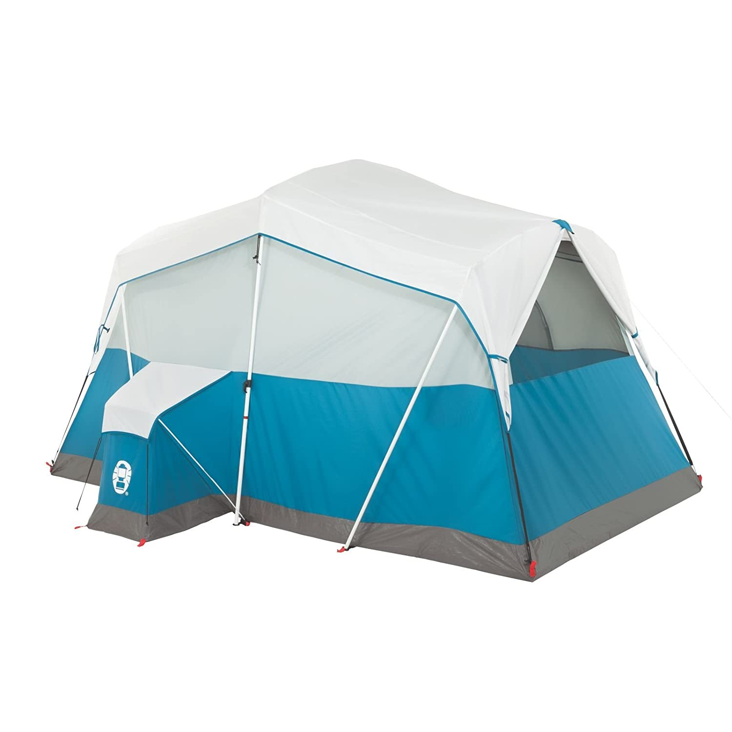 Amazon.com  Coleman Echo Lake 6 Person Fast Pitch Cabin with Cabinet  Sports u0026 Outdoors  sc 1 st  Amazon.com & Amazon.com : Coleman Echo Lake 6 Person Fast Pitch Cabin with ...