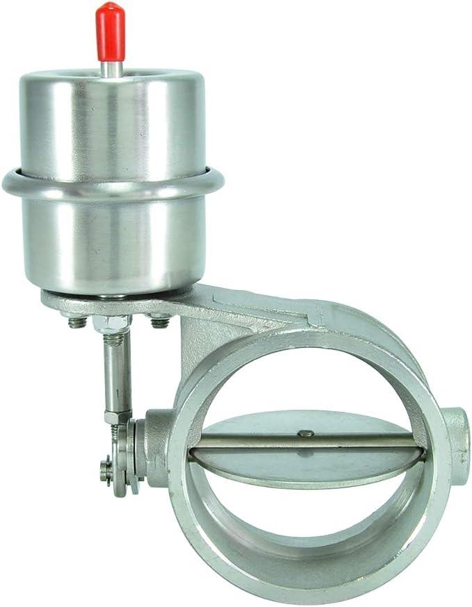 Offen Unterdruck 2,5 Zoll Innendurchmesser Edelstahl Abgasklappe 63mm