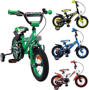 AMIGO BMX Turbo - Bicicleta infantil de 12 pulgadas - Niños - Con ...