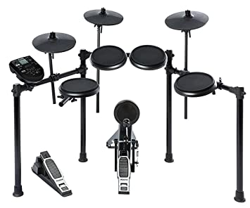 Alesis nitro kit electronic drum set with 8 inch snare 8 inch toms alesis nitro kit electronic drum set with 8 inch snare 8 inch toms and 10 solutioingenieria Images