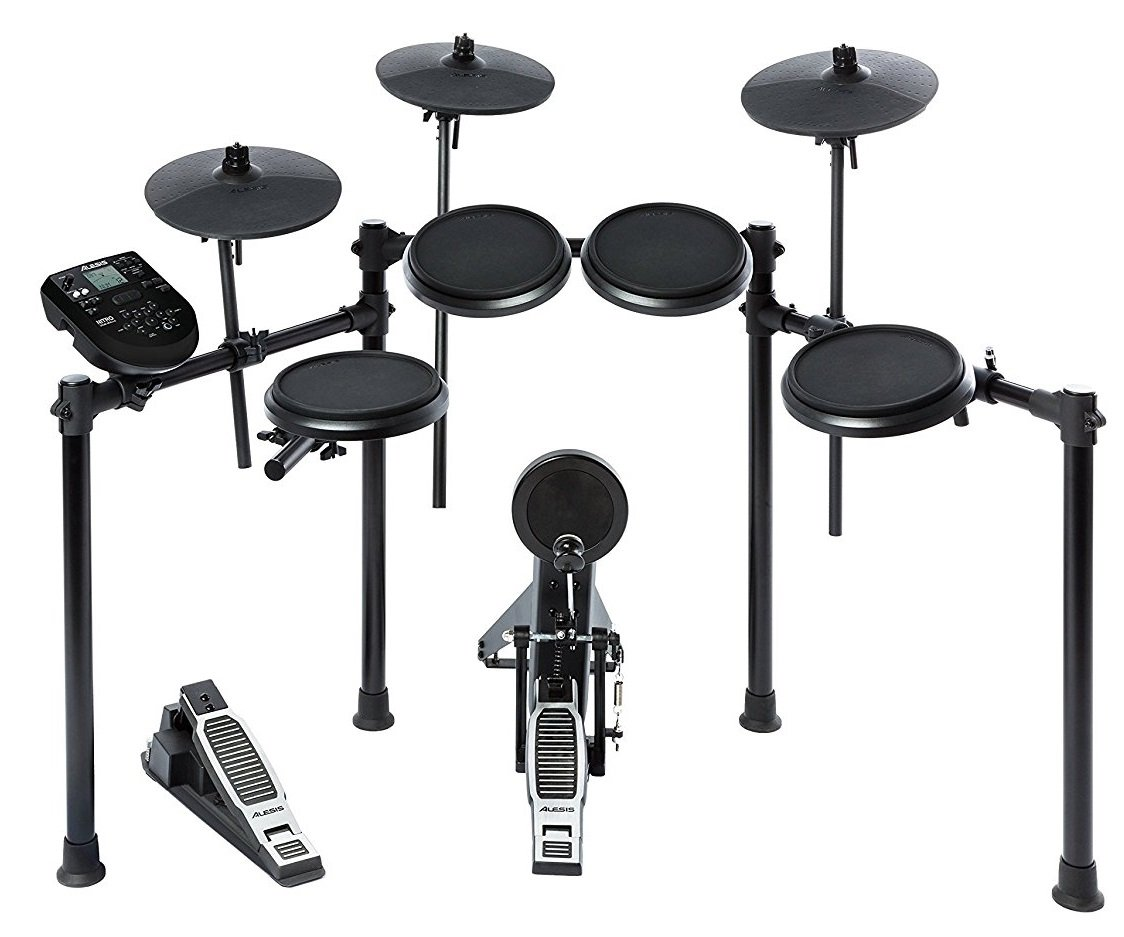 Alesis Nitro Kit | Electronic Drum Set with 8'' Snare, 8'' Toms, and 10'' Cymbals