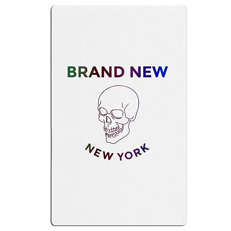 Marca nueva calavera long Island Nueva York toalla toalla de playa