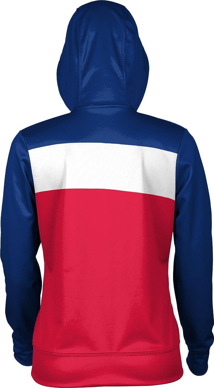 Prime Colorado State University Pueblo Womens Zipper Hoodie School Spirit Sweatshirt