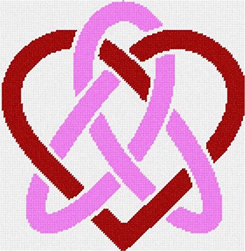 pepita Celtic Heart Needlepoint Canvas