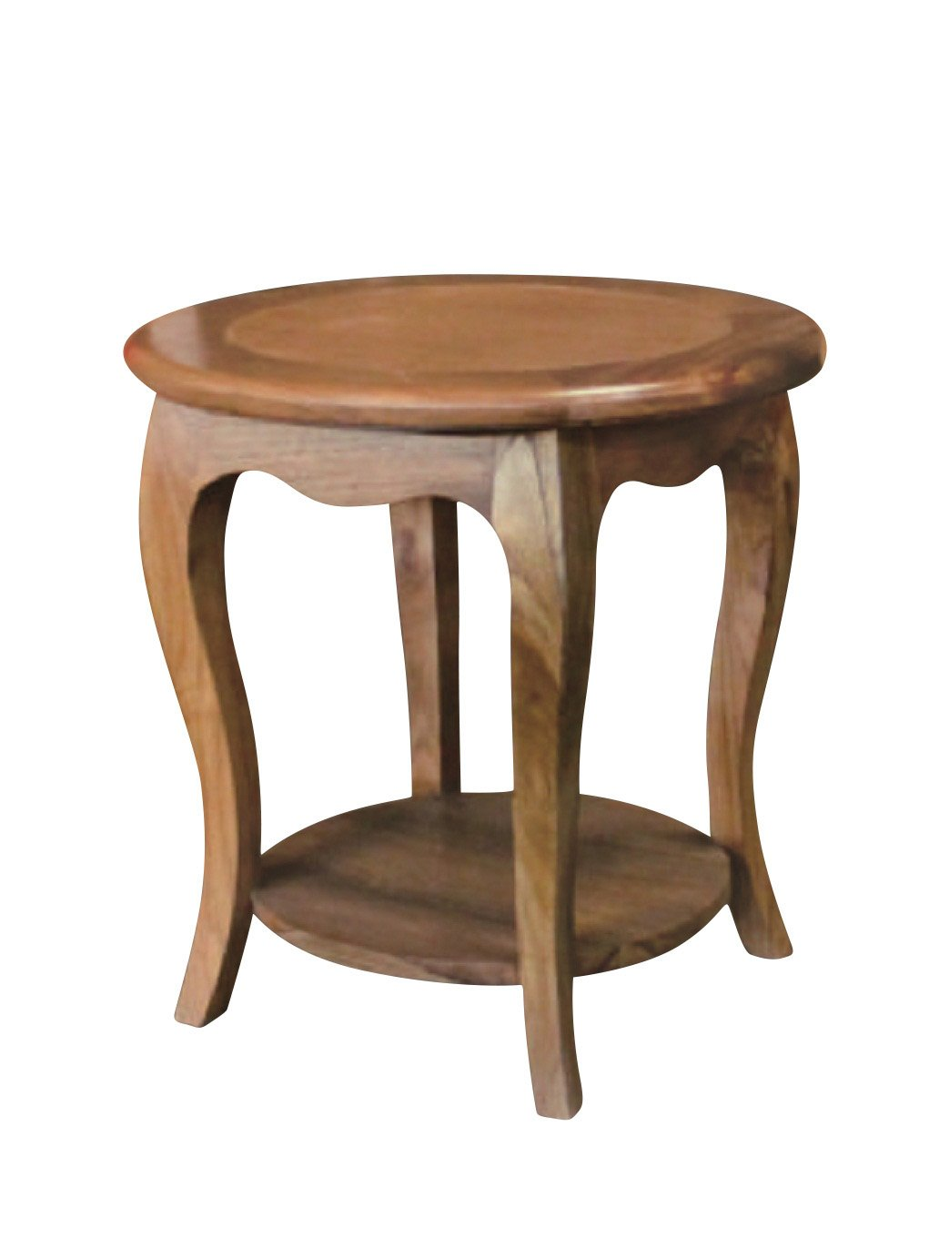 Nes furniture nes fine handcrafted furniture solid teak wood luna side table end table 24 natural amazon co uk kitchen home