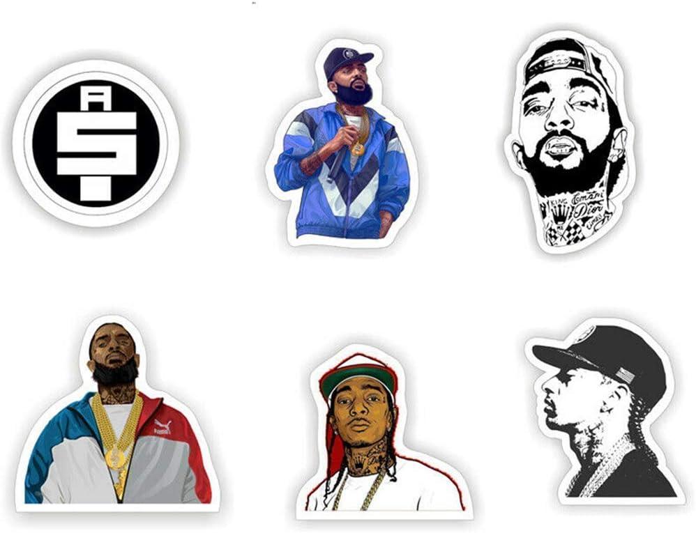 Nipsey Hussle Tuxedo Music Artist California Rapper Cartoon Vinyl Sticker