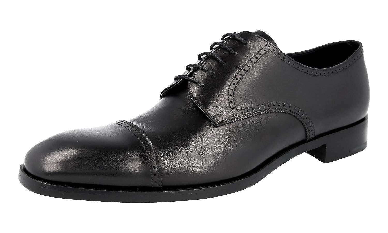 - Prada Herren 2EB125 Full Brogue Leder Business Schuhe