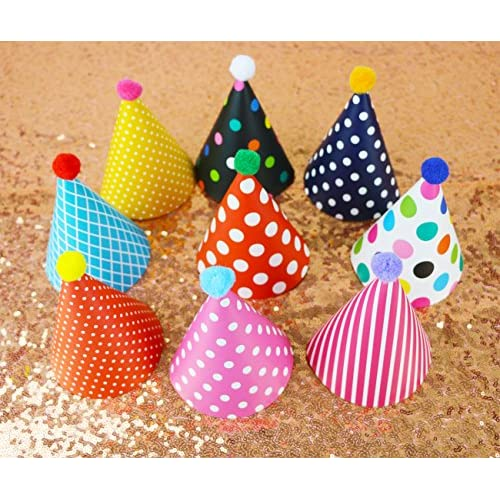Wubao Birthday Party Hats Fun Set For Kids And Adults 11PCS Best