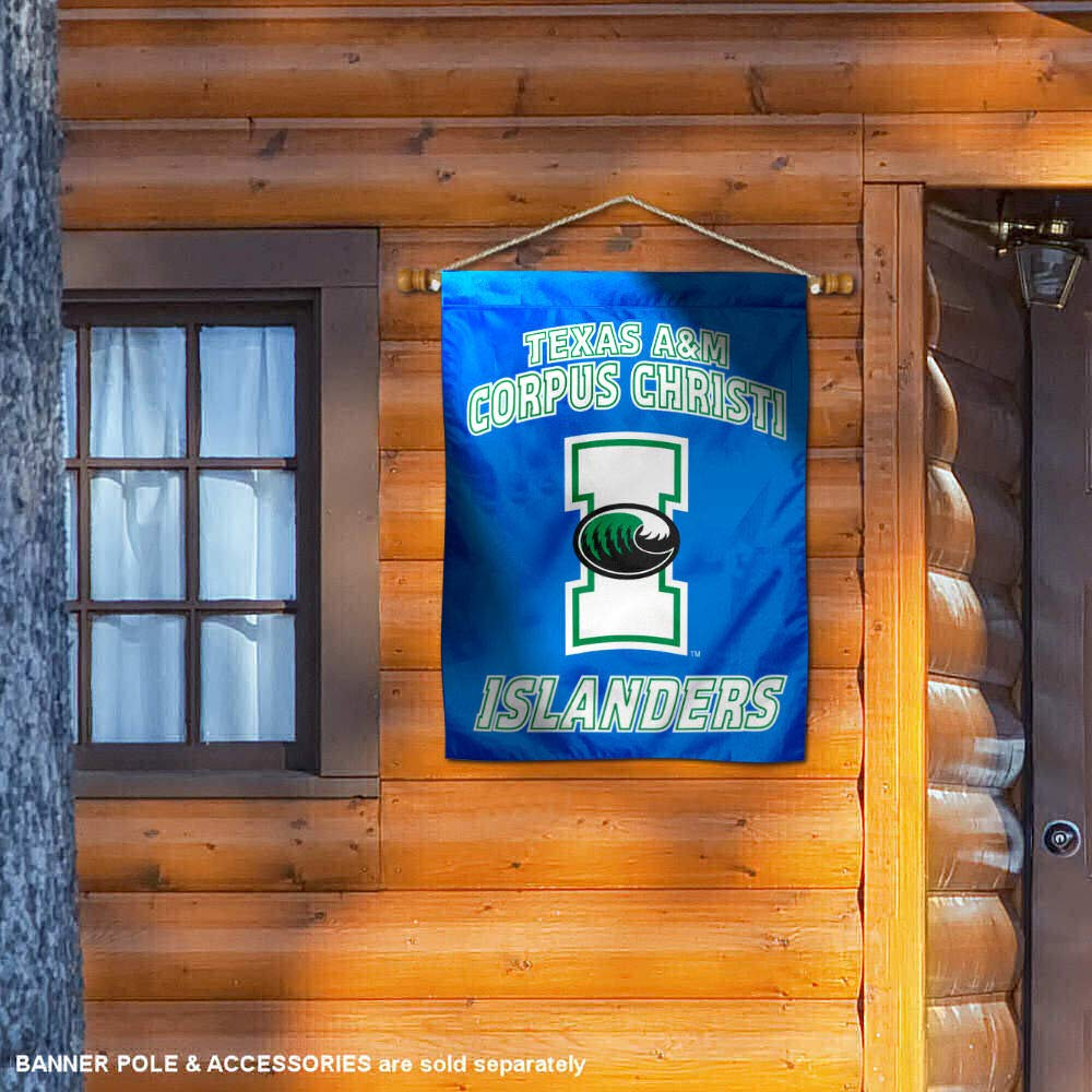 TAMU CC Islanders Double Sided House Flag College Flags and Banners Co