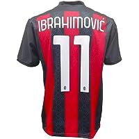 Prodotto Ufficiale AC Milan Camiseta oficial Ibrahimovic Milan 2021 para adulto niño Ibra Zlatan 11 UNDICI