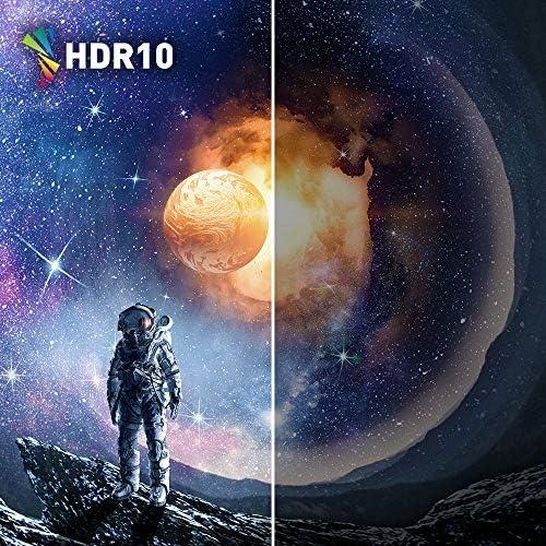 Acer Nitro XV340CK Pbmiipphzx 34″ QHD (3440 x 1440) IPS Gaming Monitor with AMD Radeon FREESYNC, 144Hz, 1ms VRB, HDR10 Technology, (2 x Display Ports, 2 x HDMI 2.0 & 2 x USB 3.0 Ports), Black 61FMQKvdSjL