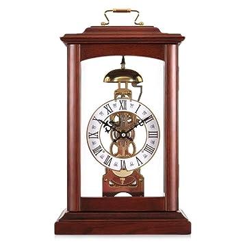 *reloj de mesa Relojes de mesa para la sala de estar Decoración Dormitorio Escritorio Reloj