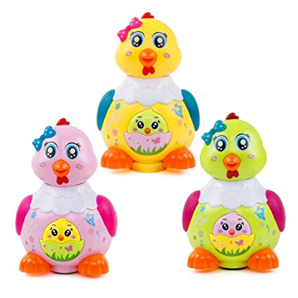 Amazon com: Redmoon0204 Kids Children Toy -Funny Chicken Lay Eggs