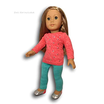 American Girl - Cool Coral Outfit for dolls - Truly Me 2015 by American Girl: Toys & Games