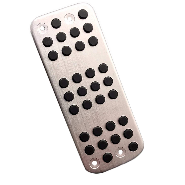 SODIAL Ttcr-II Piastra Pad Pedale Modificato per Accessori Gas 207 301 307 208 2008 308 408 CC DS 3 4 6 Ds3 Ds4 Ds6 C3 C4