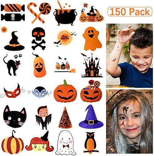 Temporary Assorted Halloween Waterproof 150Patterns product image