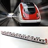 Train Model, 4pcs Toy Car Set Alloy City Rail Subway Train Model ,1/64 Scale Alloy Subway/ Car Model ToysPlay, Red White