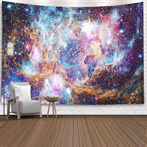 KIOAO 50×60 Inches The Helix Nebula in Deep Space Elements This Image Furnished by NASA Large Tapestry Wall Hanging Dorm Home Bedroom Living Room Art Wall Tapestries 80 L x 60 W, Multi 2
