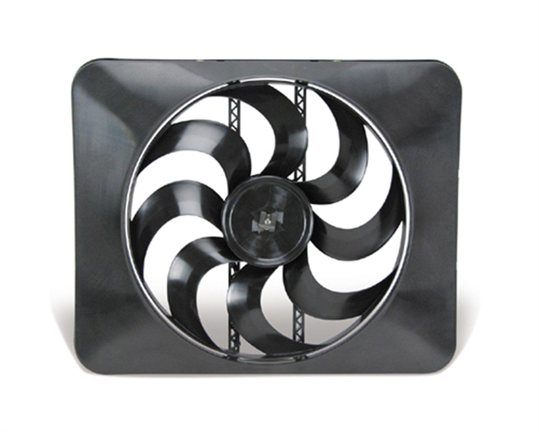 """Flex-a-lite 188 Black Magic Xtreme Black 15"""" Fan"""