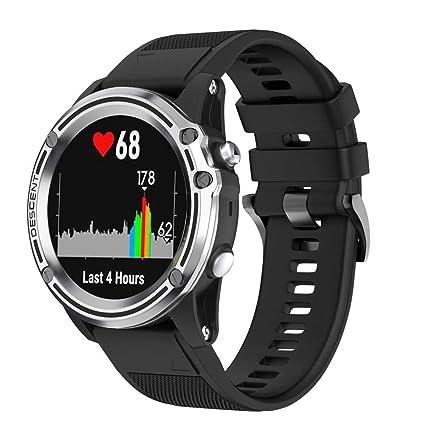 Amazon.com: VOVI Band for Garmin Fenix5 F3 F3hr Smart Watch ...