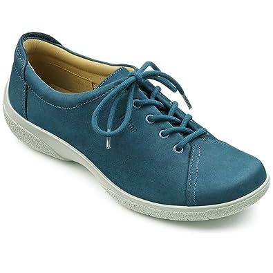 11b96819534b Hotter Womens Dew Extra-Wide Cobalt Blue Nubuck Lace Up Shoe UK 5  Amazon.co .uk  Shoes   Bags