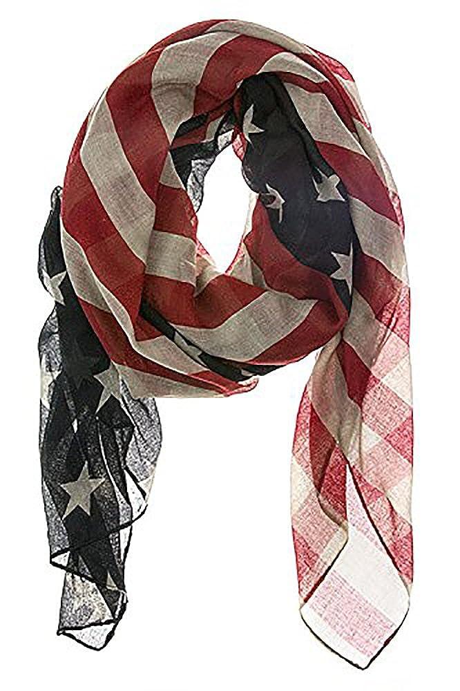 LRRH Vintage American Flag Scarf FY180727001WJ